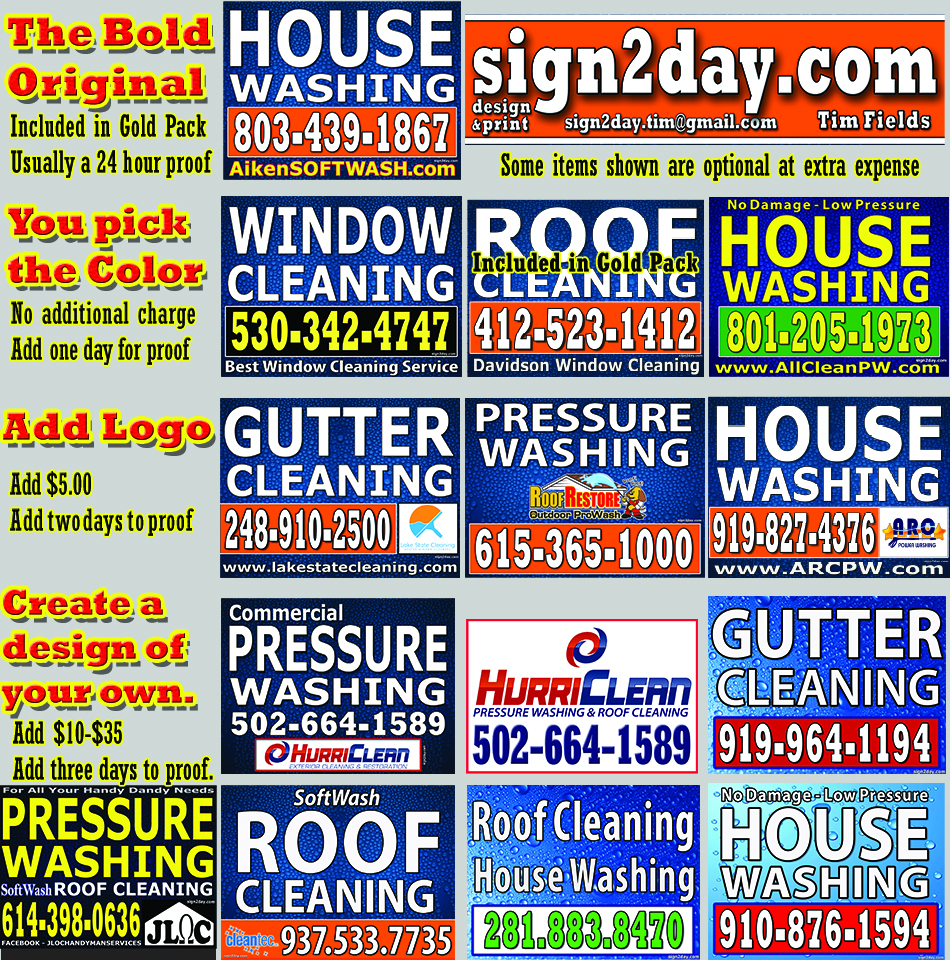 Pick A Sign We Design Sign2day