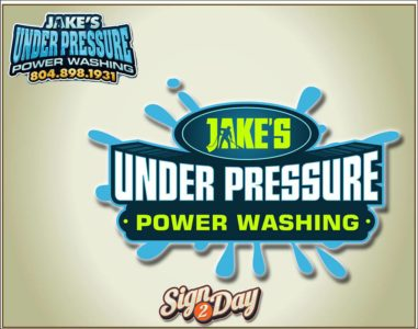 Jake's Power Washing Logo by Sign2Day