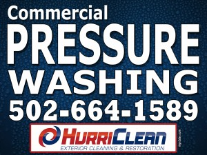 Commercial pressure washing Louisville