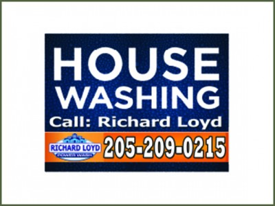 House Washing yard signs by Sign2Day