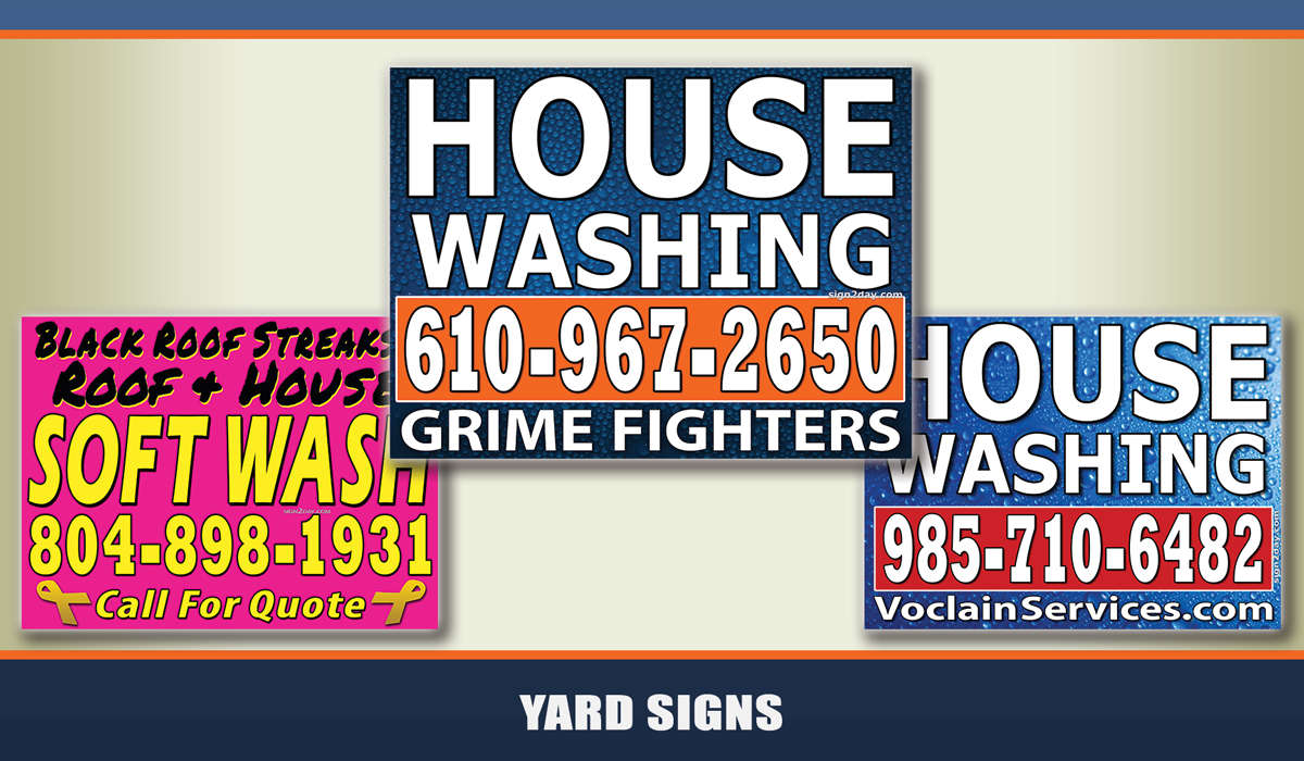 yard signs from sign2day