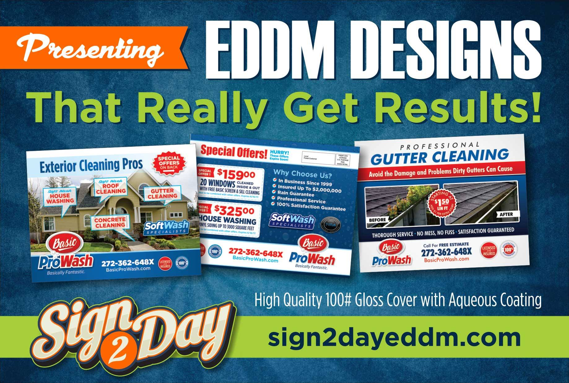 EDDM Postcards by Sign2Day